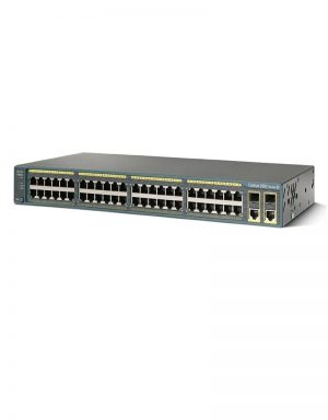 WS-C2960-48TC-S Cisco Catalyst 2960 Series.