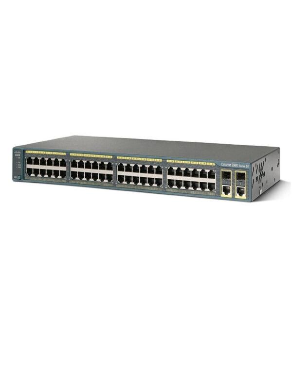 WS-C2960-48TC-S Cisco Catalyst 2960 Series.