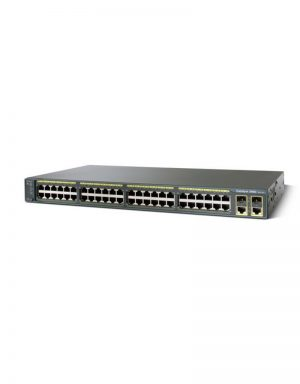 WS-C2960+48PST-L 48 Ports Managed Switch