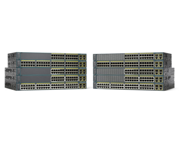 Cisco Catalyst 2960-Plus 24TC-S - 24 ports switch