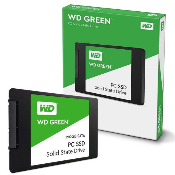 Western Digital Green 120GB 2.5 Inch SATAIII SSD