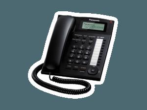 Panasonic KX-TS880MXB Black Phone Set