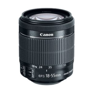 Canon EF-S 18-55mm 1:3.5-5.6 IS STM Camera Lens