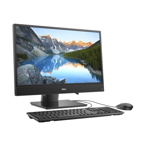 Dell Inspiron AIO 24 3480 8th Gen Intel Core i5 8265U (1.60GHz-3.9GHz, 4GB Black All in One PC