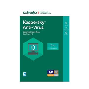 Kaspersky Anti-Virus 3-User 1 year