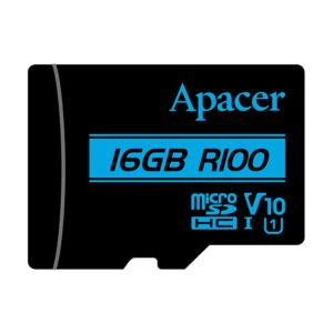 Apacer MicroSDHC UHS-1 U1 V10 R100 16GB with Adapter