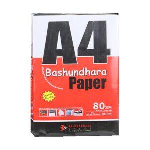 K2 Bashundhara 80 GSM Glossy 500 Sheet A4 Paper