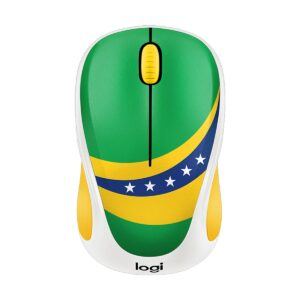 Logitech M238 Brazil Flag Wireless Mouse