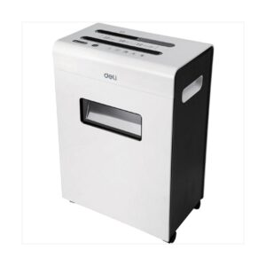Deli Exclusive 9903 12 Sheet White Paper Shredder