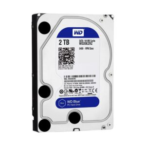 Western Digital Blue 2TB 3.5 Inch SATA 5400RPM Desktop HDD