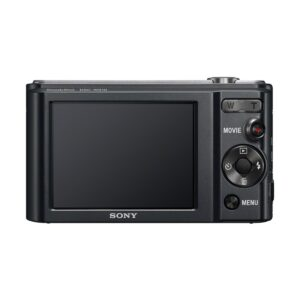 Sony DSC-W800 Black Digital Camera