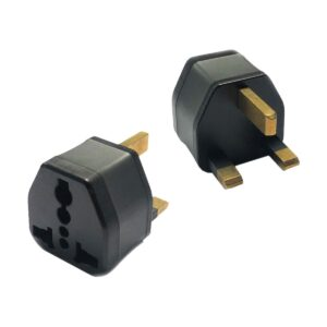 REMAX Elite UK Universal Black Adapter