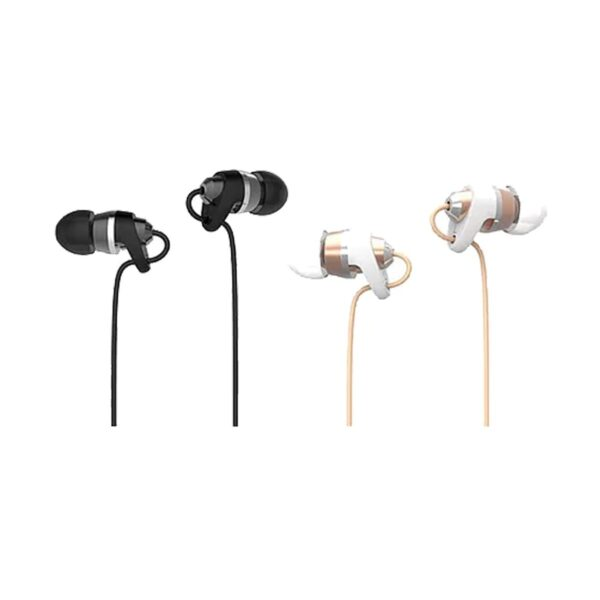 Micropack EM-300 Black & White Gold Mobile In-Earphone