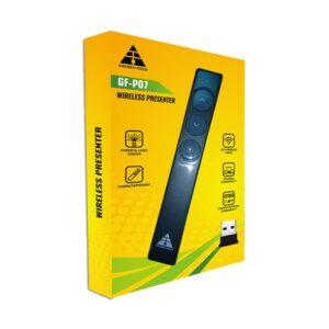 Golden Field GF-P07 Wireless Black Presenter with Laser Pointer