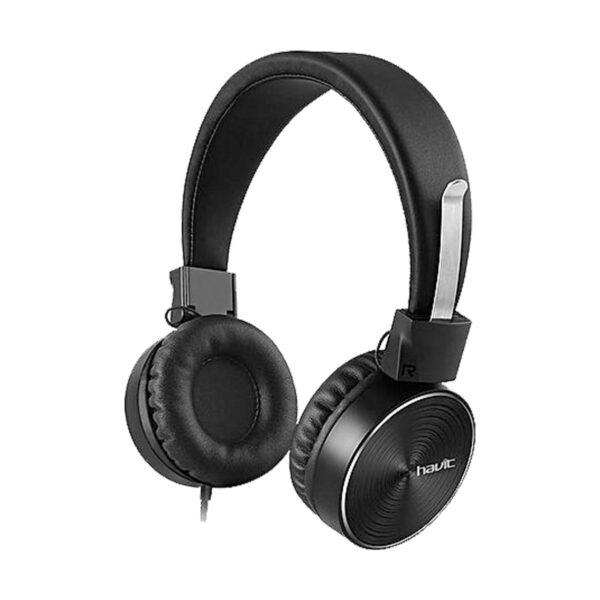 Havit H2215D Black Wired Headphone