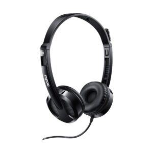 Rapoo H100 Black Wired Stereo headset