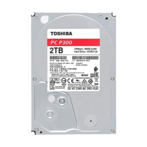 Toshiba 2TB 3.5 Inch SATA 7200RPM Desktop HDD