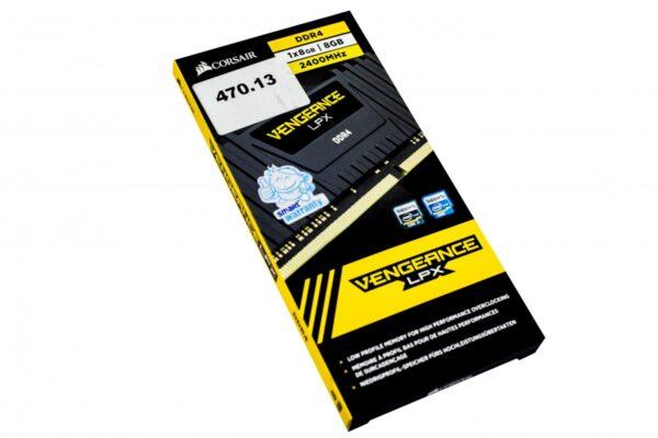 Corsair Vengeance LPX 8GB DDR4 2400MHz Black Heatsink Desktop RAM