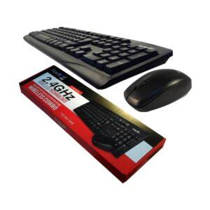 Havit KB525GCM Black Wireless Keyboard & Mouse Combo with Bangla.