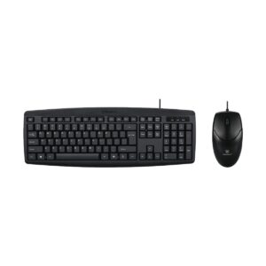 Micropack KM-2003 Black USB Keyboard & Mouse Combo with Bangla