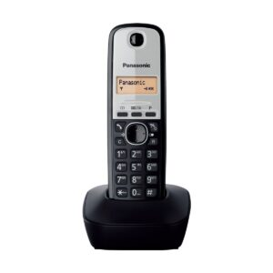 Panasonic KX-TG1911 Dect Cordless Black Phone Set