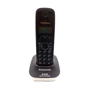 Panasonic KX-TG3411SX Cordless Front Black & Back White Phone Set