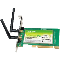 TP-Link TL-WN851N Wireless PCI Lan Card