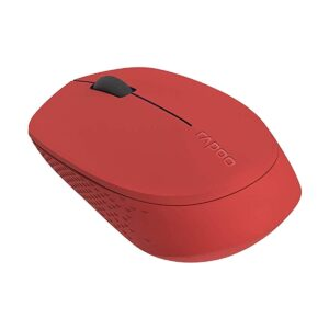 Rapoo M100 Multi Mode Silent Bluetooth Red Mouse