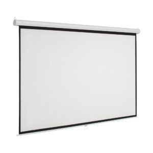K2 60 Inch x 60 Inch Manual Projector Screen