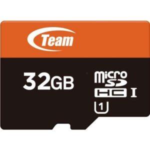 Team Micro SD 32GB-HC (UHS-1) TUSDH32GUHS03 Memory Card