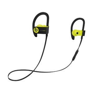 Beats Powerbeats3 by DR. Dre Wireless Earbuds in-Ear Shock Yellow - Black Sports Earphone