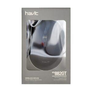 Havit MS882GT Wireless Black Optical Mouse