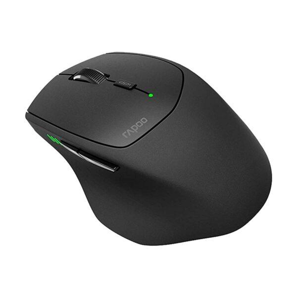 Rapoo MT550 Multi Mode Bluetooth Black Mouse