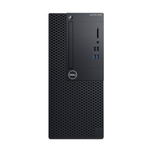 Dell Optiplex 3060 MT 8th Gen Intel Core i5 8500 (3.00GHz-4.10GHz, Intel H370 Chipset, 4GB DDR4 2666MHz, 1TB HDD, DVD-RW, USB Key+Mou) Brand PC