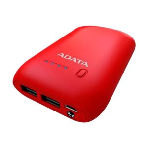 A Data P10050 Red Power Bank