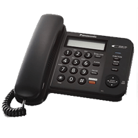 Panasonic KX-TS580MX Black Phone Set