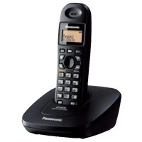 Panasonic KX-TG3611BXB Cordless Black Phone Set