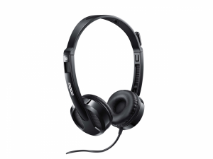 Rapoo H-100 Wired Black Headphone