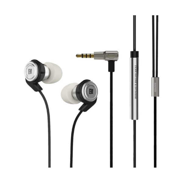 REMAX RM-800MD Hybrid Series Wired Black Earphone