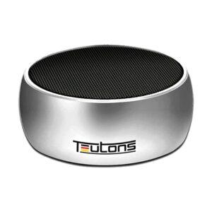 eutons Simplicity 5W Metallic Bluetooth Silver Speaker