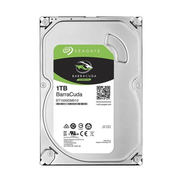 Seagate Barracuda 1TB 3.5 Inch SATA 7200RPM Desktop HDD