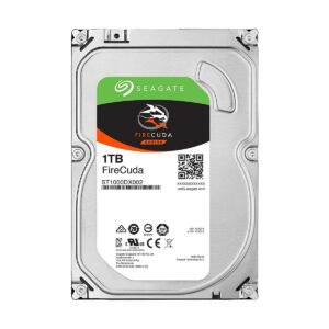 Seagate FireCuda Gaming SSHD 1TB 3.5 Inch SATA 6Gb/s 7200RPM Desktop HDD