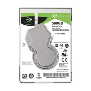 Seagate Barracuda 500GB 2.5 Inch SATA 5400RPM Notebook HDD