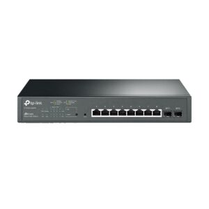 TP-Link T1500G-10MPS JetStream 8 Port All Gigabit Smart All PoE+ Switch with 2 SFP