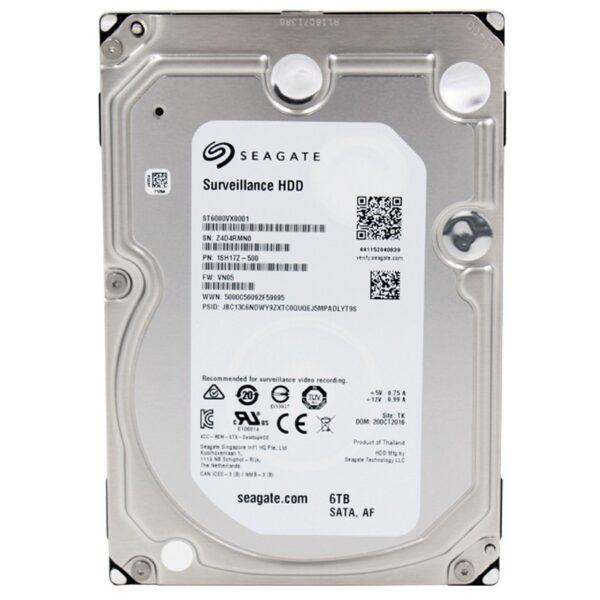Seagate Skyhawk 6TB 3.5 Inch SATA 7200RPM Surveillance HDD