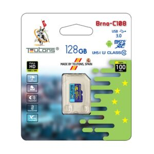 Teutons 128GB micro SDXC Class 10 UHS-I Memory Card