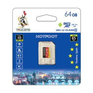 Teutons 64GB micro SDXC Class 10 UHS-I Memory Card