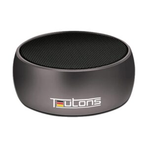 Teutons Simplicity 5W Metallic Bluetooth Black Speaker