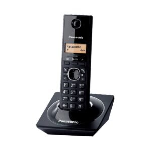 Panasonic KX-TG1711 Cordless Piano Black Phone Set