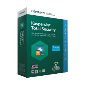 Kaspersky Total Security 1-User 1 year